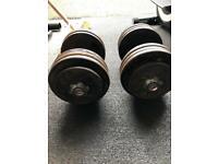 67 adjustable dumbbells set