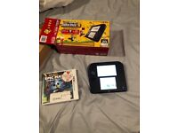 Nintendo 2ds blue and black like new only used twice