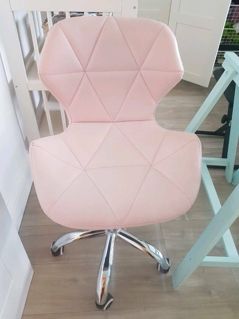 Remarkable Pastel Pink Office Chair In Childwall Merseyside Gumtree Ncnpc Chair Design For Home Ncnpcorg
