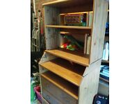 Childrens Chest of Draws with added Shelving