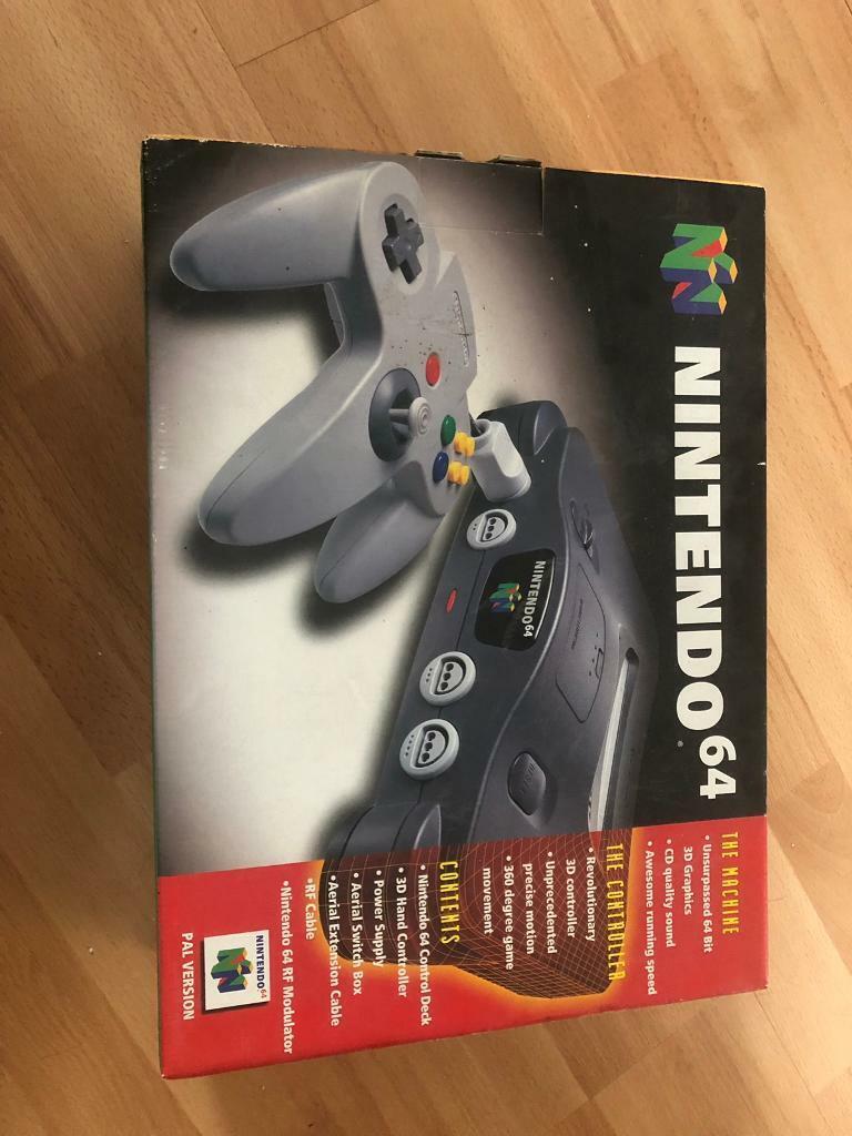 Nintendo 64 Box | in Drayton, Norfolk | Gumtree