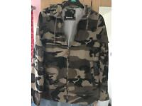 Men's small bench camo jacket
