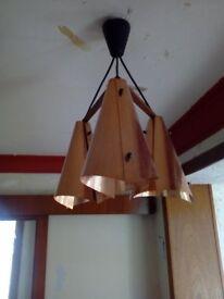 Art Deco Light Fitting