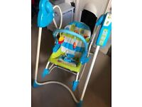 Fisher price smart stages 3-1 swing, seat and rocker.
