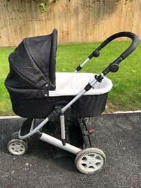 Mamas and Papas Zoom Pushchair and Carry Cot system