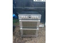 Stoves Sterling Mini Range 600DF Dual Fuel Cooker (Electric and Gas) 60cm