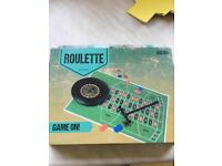 Roulette game brand new in box