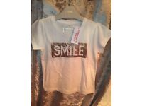 Girls t-shirt age 4-5 new with tags