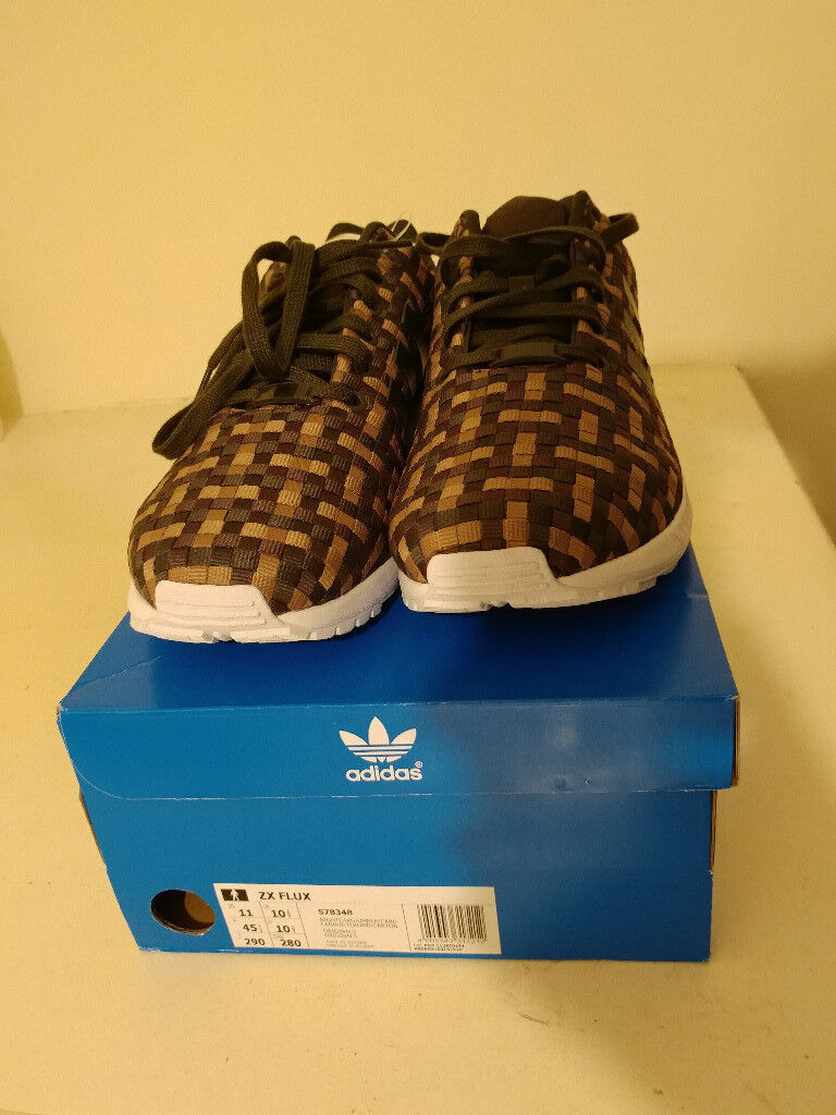 low priced 4ea52 b39a1 Adidas Original ZX Flux Night Cargo/Umber/Cardboard Size 10,5 (Size 45  European) Brand New With Box | in Leicester, Leicestershire | Gumtree