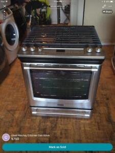 Used Maytag 5 burner Gas Stove