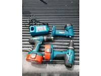 Makita drill and tourch with charger