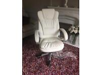 Stunning white Executive Office chair