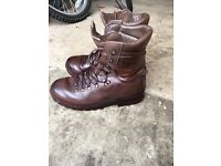 Altberg Warrior Boot MOD Brown size 10 men's UK