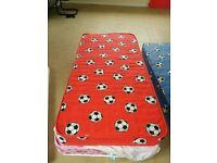 Kid Child Boy Girl Single Red Football Mattress 190 90 Kidsaw