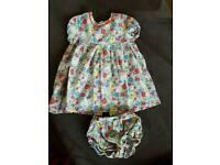 Cath kidston girls dress 1-2 years