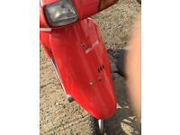 Honda elite e moped melody cub barn find