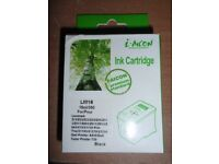 2 Inkjet Printer Cartridges to replace Lexmark 16 - BLACK