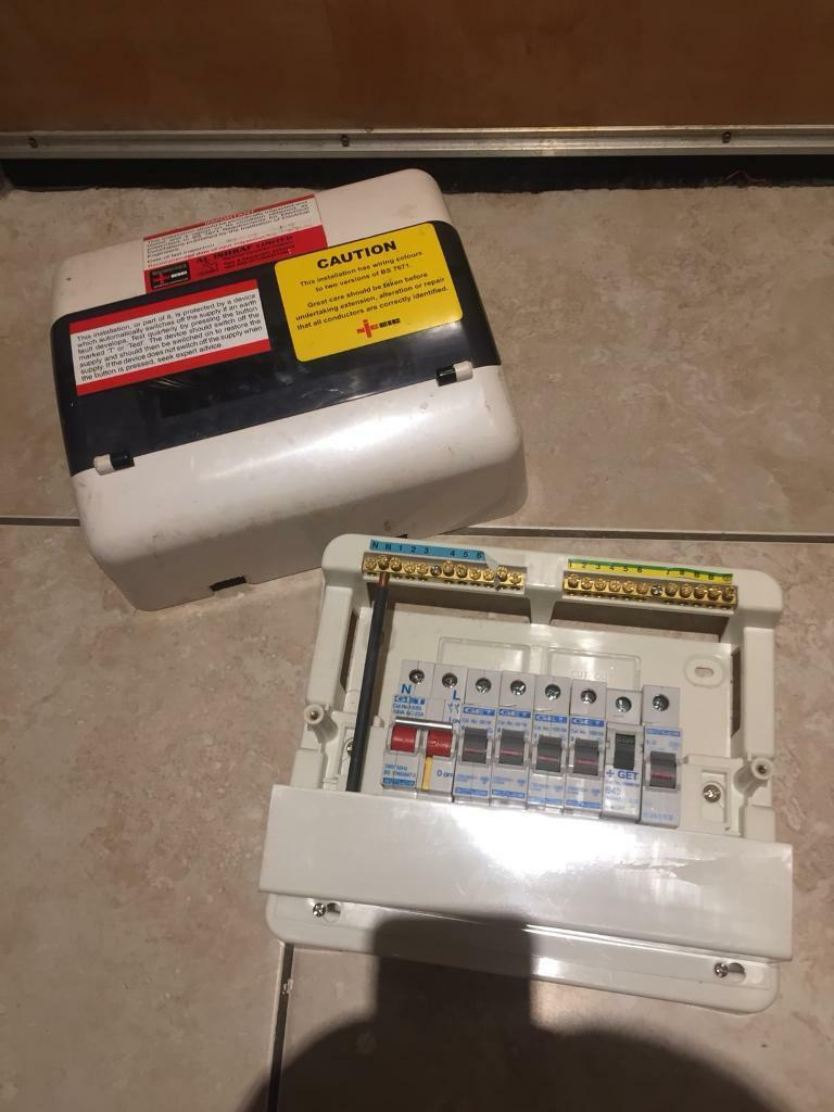 Fuse Box To Consumer Unit : Mains fuse box rcd consumer unit in newcastle tyne and