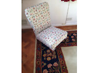 Lovely compact traditional living room chair