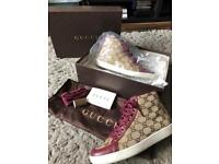 Authentic Gucci Trainers (size 3 to fit a 4)