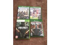 Games bundle xbox one call of duty blacks ops 3 fifa 16