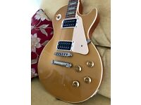 Gibson Les Paul Classic Gold Top, 1960 Reissue, 2006, natural lacquer checking!