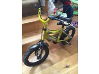 Boys 14 inch Townsend Commando Bike ( tyres still have bobbles on them )