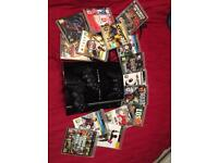 PlayStation 3 PS3 including 3 controllers and 15 games