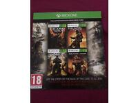 XBOX ONE - GEARS OF WAR 1,2,3 & JUDGMENT