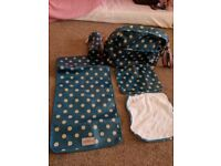 Cath kid's blue spotty changing bag
