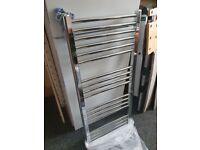 Tradefix towel radiator - straight chrome 1087h x 500w