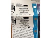 2x pitch standing tickets Beyonce and Jay Z