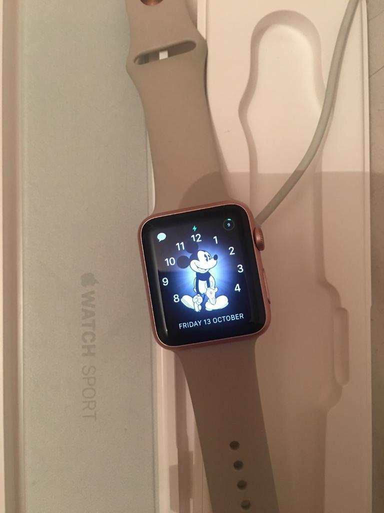 Apple Watch Sport rose gold 200 Ono