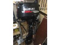 Suzuki 5 hp 4 stroke long shaft outboard engine