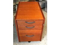 Ikea Under-desk Filing Cabinet with 2 drawers