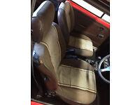 Ford Escort Mk2 Sport Interior