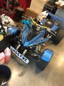 Spy 250 quad bike