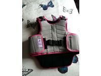Kids horse riding body protector.