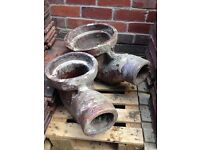 Reclaimed salt glazed drainage various £40