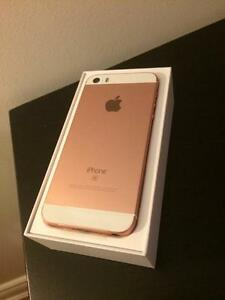 NEW iPhone SE 16gb Rose | Bell & Virgin
