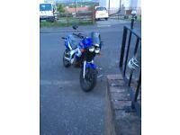 Yamaha tdr 125 4fu fast reliable