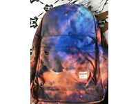 Authentic Dan and Phil galaxy backpack hardly used from smoke and pet free home