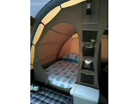 Kampa airbeam pollycotton 4 man tent
