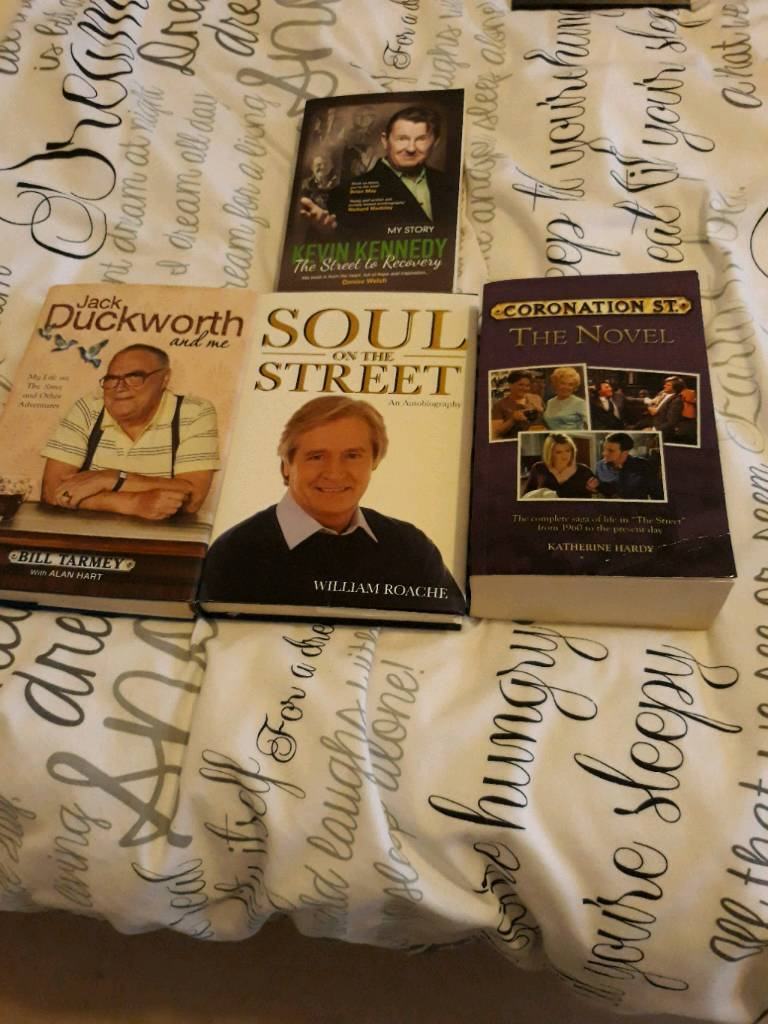 Still available Set of corrie autobiographies