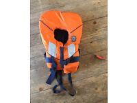 Spiral lifejacket 100N orange, child