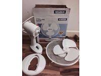 White 12 inch fan for sale