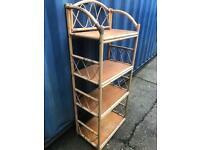 Bamboo shelving unit FREE DELIVERY PLYMOUTH AREA