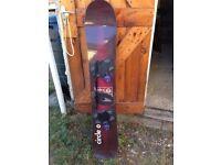 Snow board for sale!
