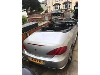 peugeot 307cc convertible with MOT
