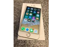 iPhone 6s gold 64gb factory unlocked as new Comes with data cable and plug